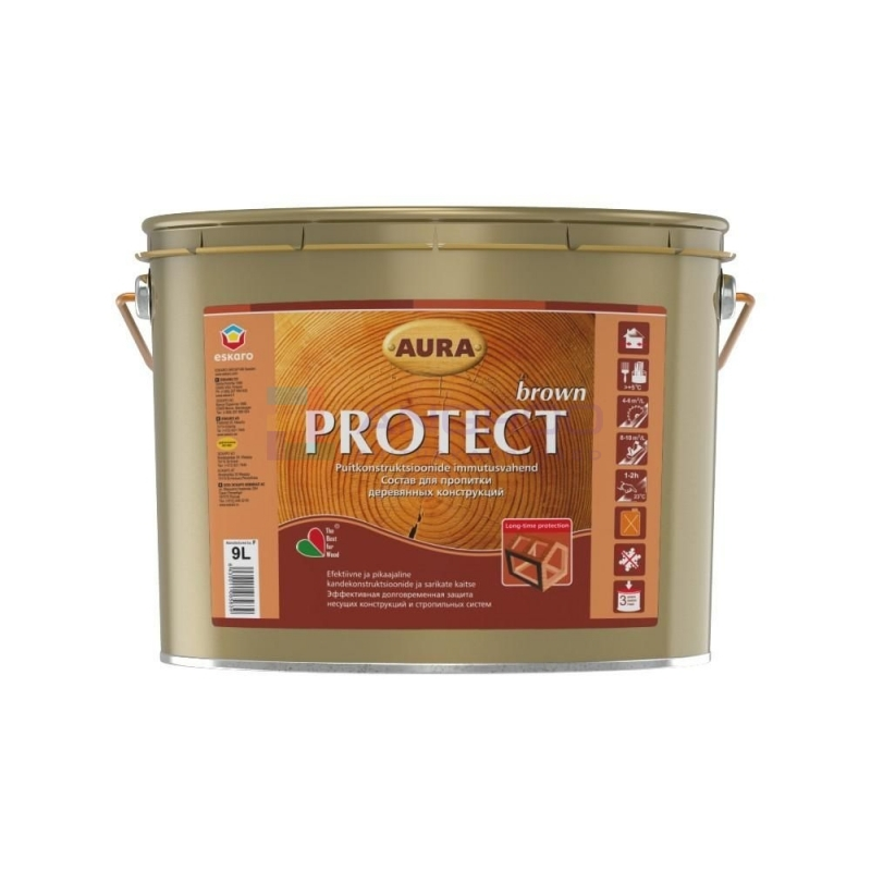 PROTECT BROWN 9L 58284