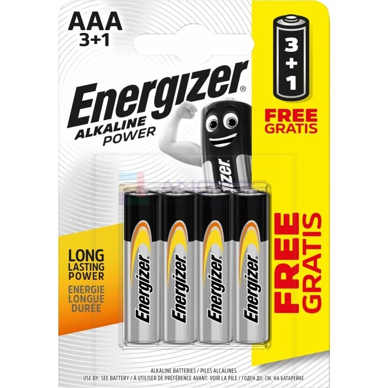 PATAREI ENERG. AAA LR03 POWER 3+1 30016