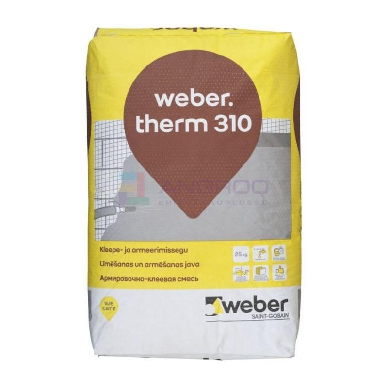 weber therm 310 kleep./armeerimine 25KG