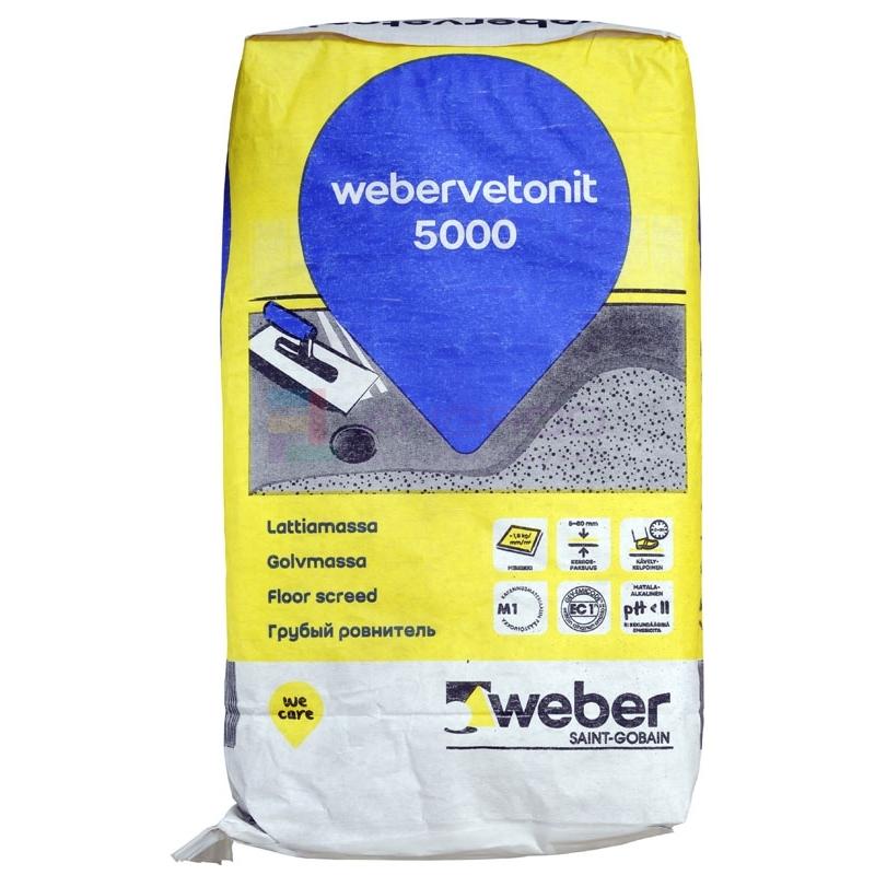 weber 5000 Jäme,kiire põrandasegu 20KG