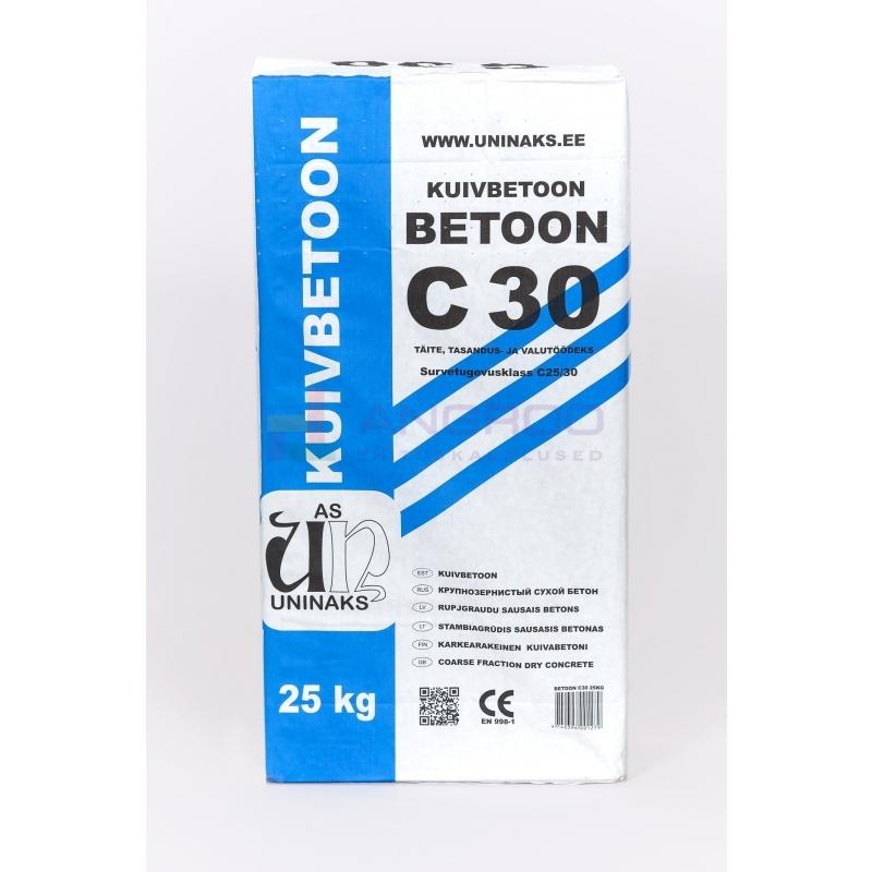 UNINAKS BETOON C30   25KG.