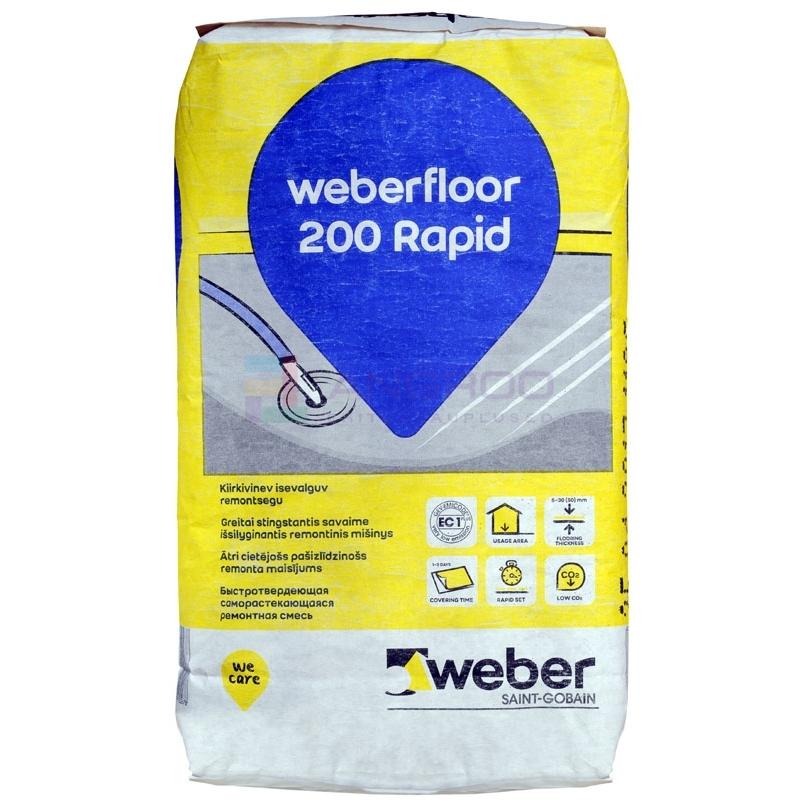 weber floor  200 Rapid (reno120) 20KG