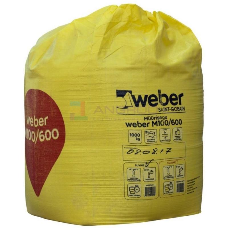 weber Müürisegu M100/600    1000KG