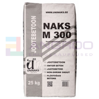 UNINAKS JOOTEBETOON M-300  25kg TALVE