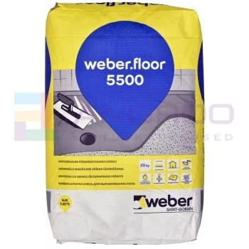 weber 5500 Põrandatasandussegu 25KG