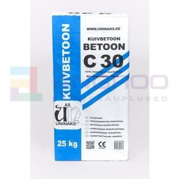 UNINAKS BETOON C30  25KG.  TALVE