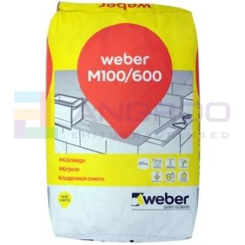 weber Müürisegu M100/600      25KG